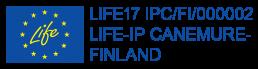 EU-lippu ja LIFE17-Ip-tunnus