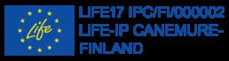 EU-lippulogo: LIFE-IP Canemure